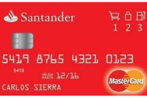Requisitos tarjeta crédito Santander
