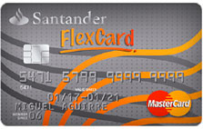 tarjeta de crédito Santander flex card