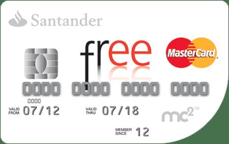 tarjeta free santander